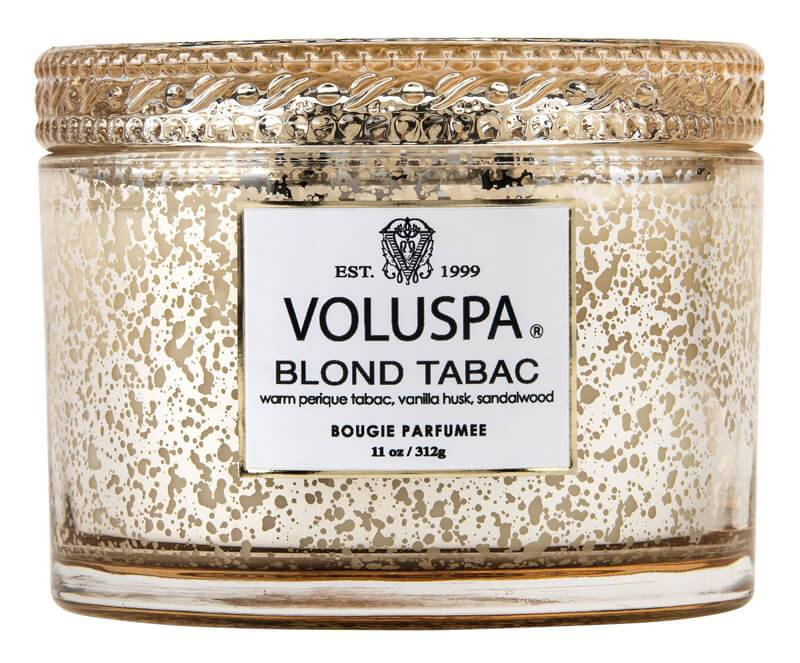 Voluspa Blond Tabac Boxed Corta Maison Glass Candle 60 Tim