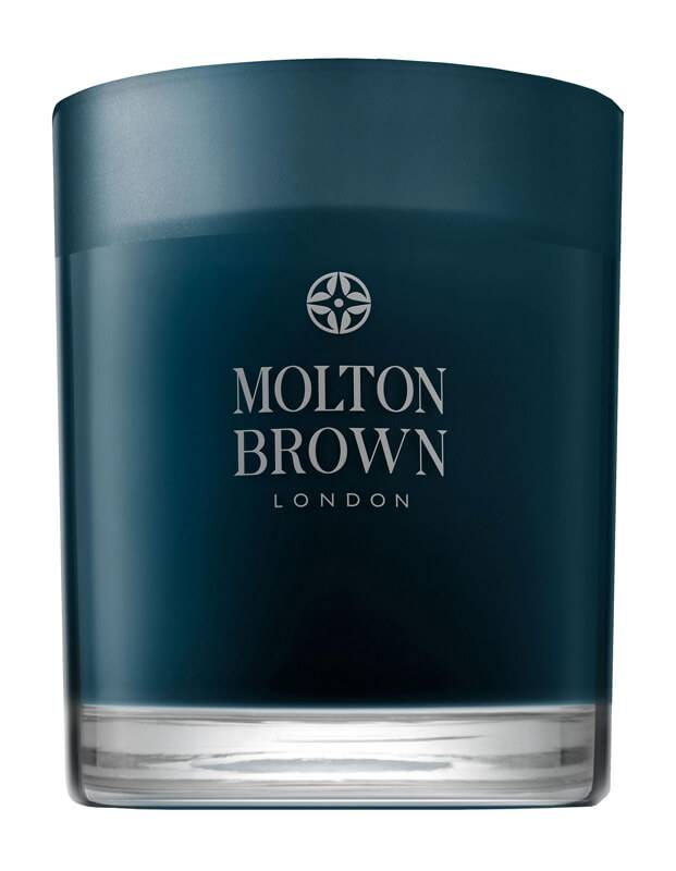Molton Brown Russian Leather Single Wick Candle