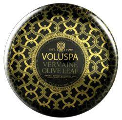 Voluspa 2 Wick Metallo Candle Vervaine Olive Leaf