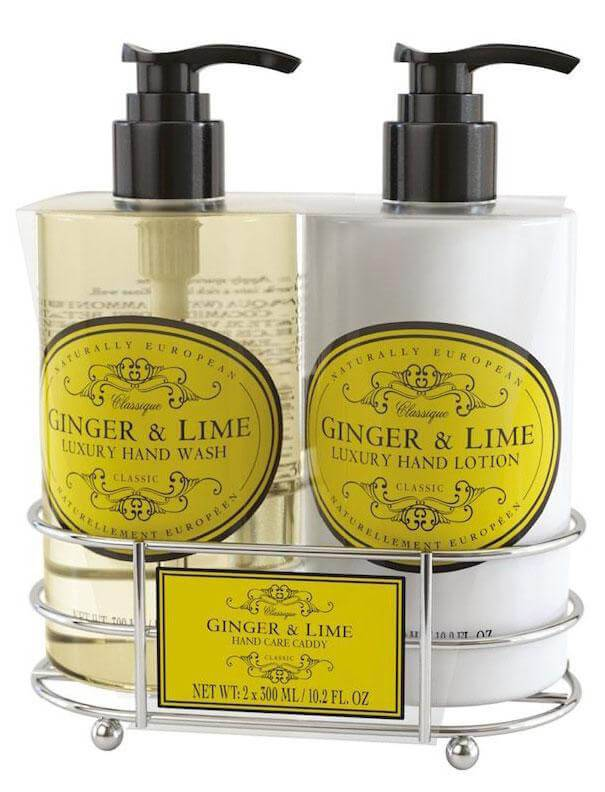 Naturally European Caddy Set Ginger & Lime