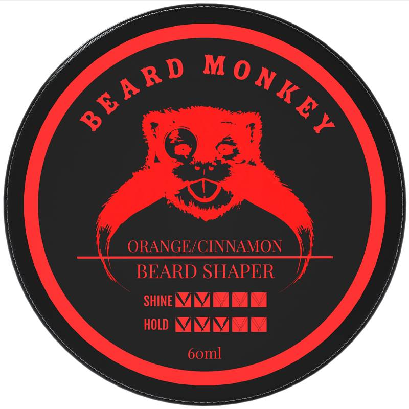 Beard Monkey - Beard Shaper - Orange/Cinnamon
