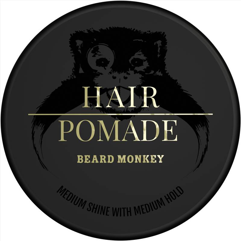 Beard Monkey Hair Vax Pomade