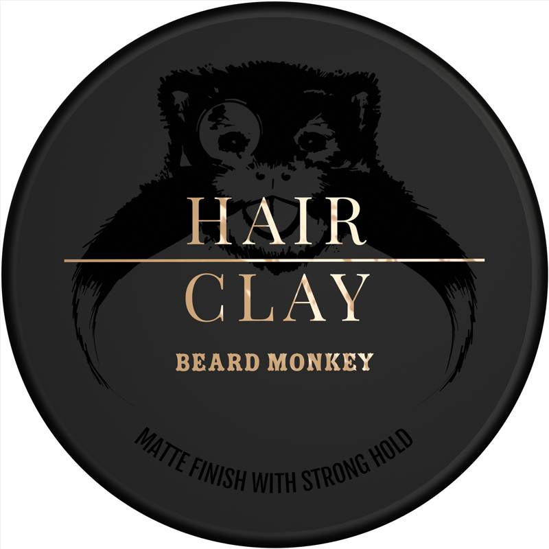 Beard Monkey Hairvax Clay Pomade
