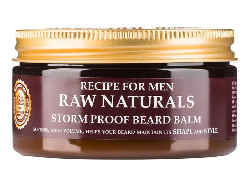 Recipe For Men Raw Naturals Storm Proof Beard Balm (100ml)