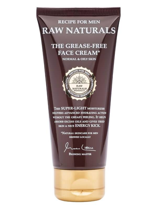 Recipe For Men Raw Naturals The Grease-Free Face Cream (100ml)