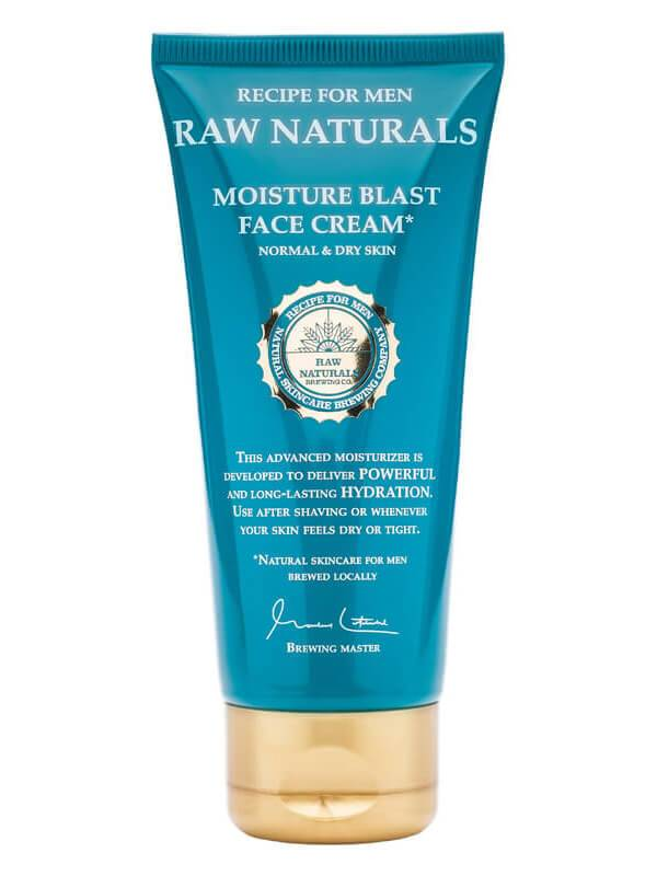 Recipe For Men Raw Naturals Moisture Blast Face Cream (100ml)