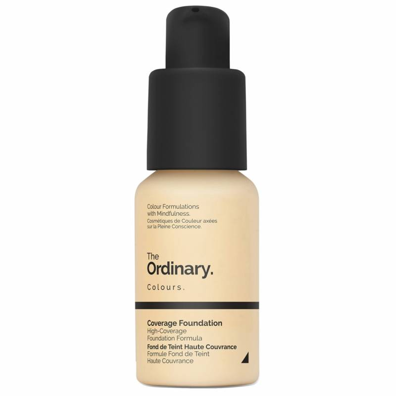 The Ordinary Coverage Foundation 1.2 Y Light Yellow