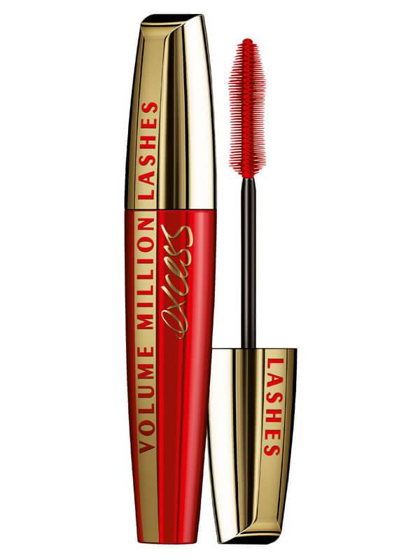 LOreal Paris Loreal Mascara Excess Black Volume Million Lashes