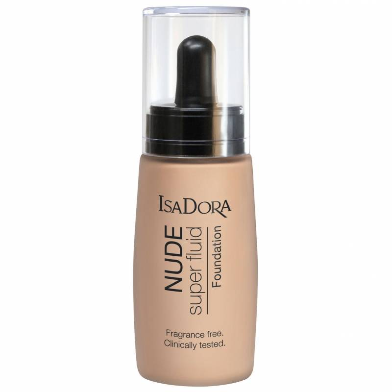 IsaDora Nude Sensation Fluid Foundation - 10 Nude Porcelain