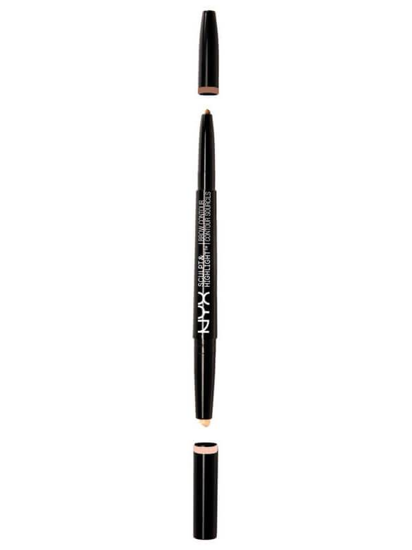 NYX Professional Makeup Sculpt & Highlight Brow Contour - Auburn/Soft Pink