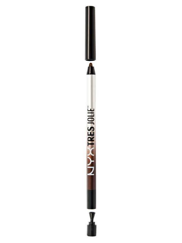 NYX Professional Makeup Tres Jolie Gel Pencil Liner - Brown