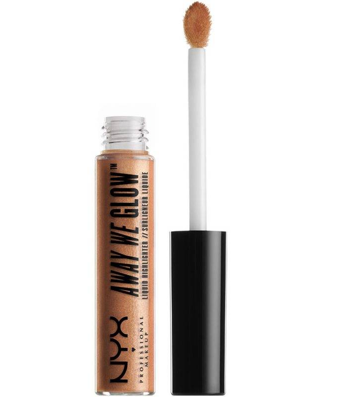 NYX Professional Makeup Away We Glow Liquid Highlighter - Gold Rush
