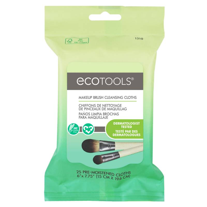 EcoTools Makeup Brush Cleansing Wipes