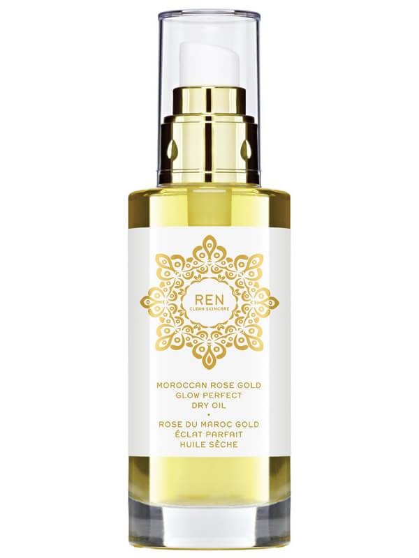 REN Moroccan Rose Gold Glow Perfect Dry Oil (100ml)
