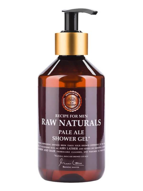 Recipe For Men Raw Naturals Pale Ale Shower Gel (300ml)