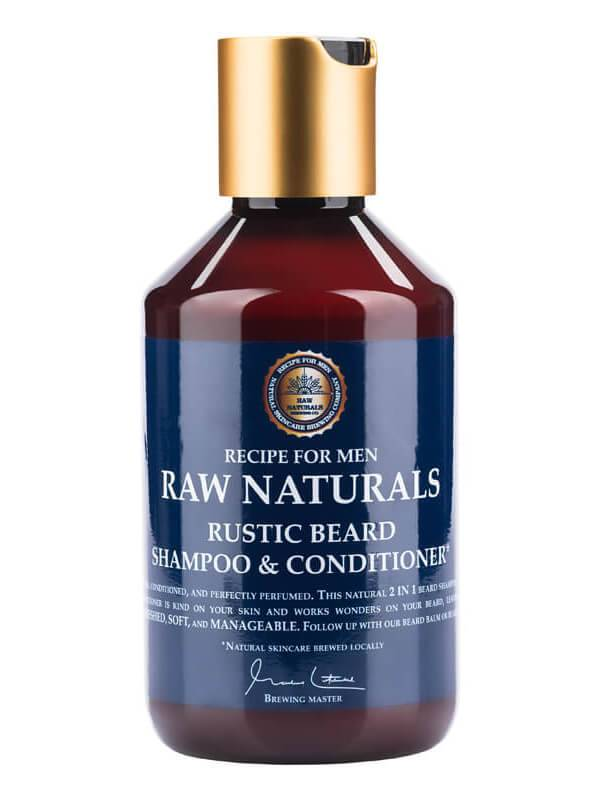Recipe For Men Raw Naturals Rustic Beard Shampoo & Conditioner (250ml)