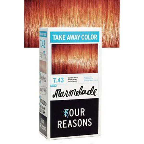 Four Reasons Take Away Color 7.43 Marmelade