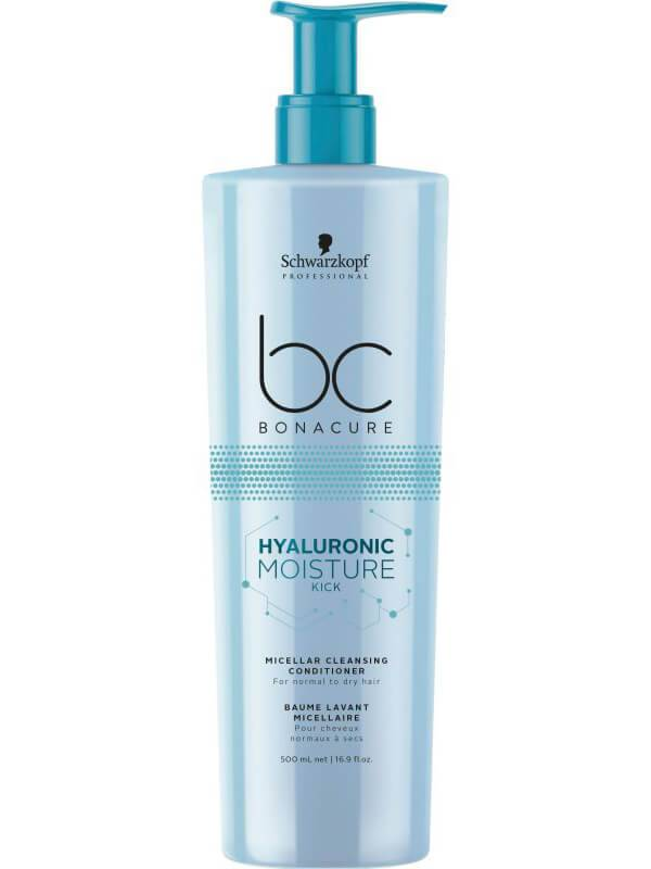Schwarzkopf Professional BC Hyaluronic Moisure Kick Cleansing Conditioner (500ml)