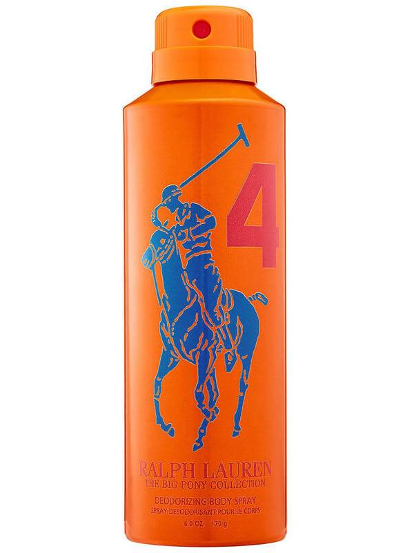 Ralph Lauren Big Pony Men #4 Orange Body Spray (200ml)