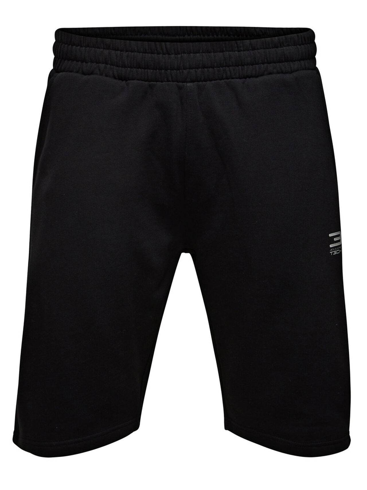 JACK & JONES Sports Sweat Shorts Men Black Black
