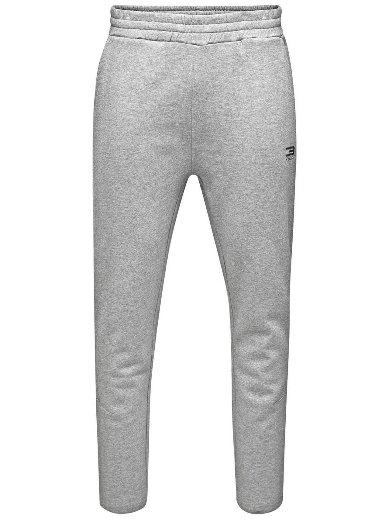 JACK & JONES Sports Sweat Pants Men Grey LightGreyMelange