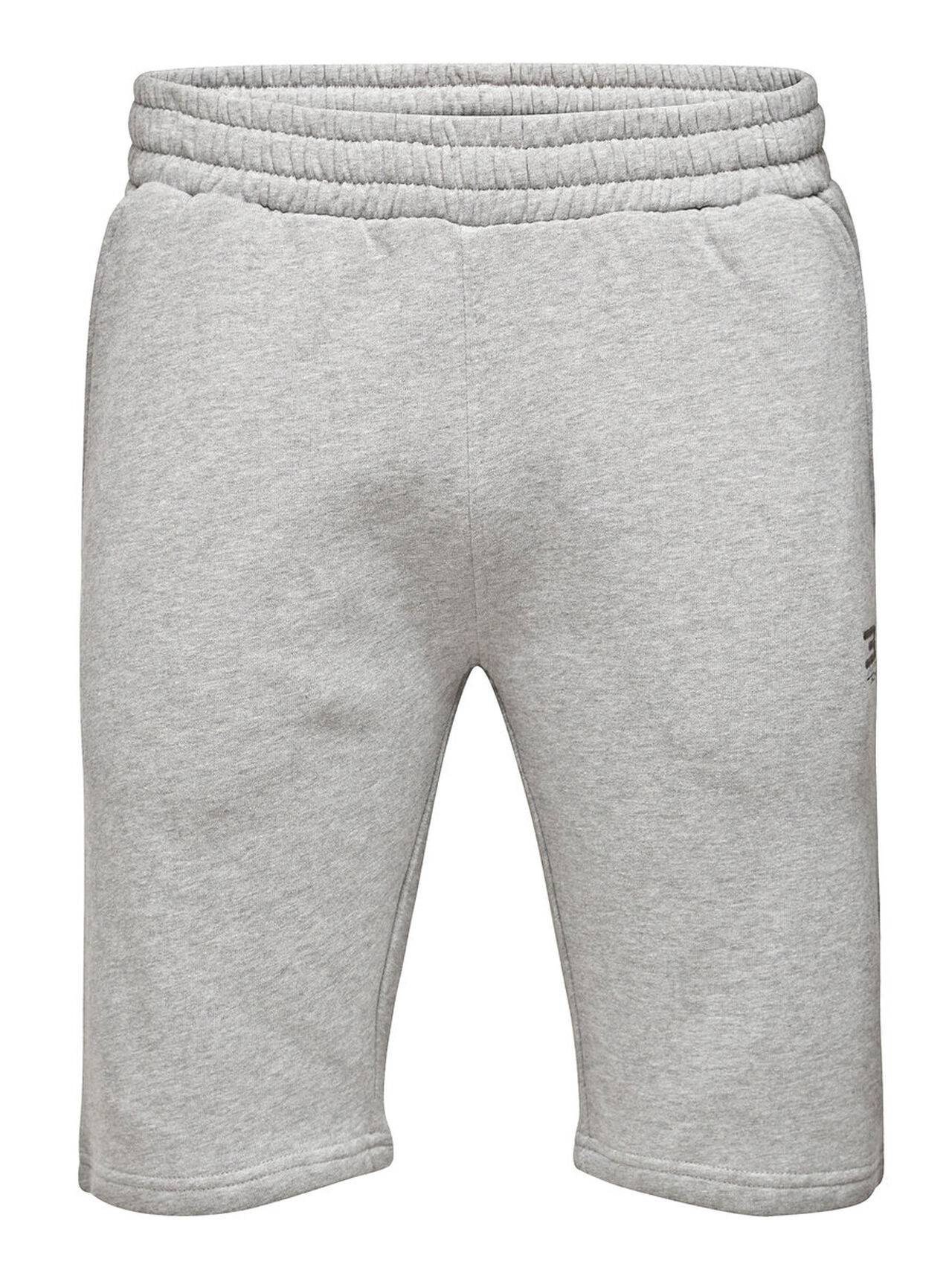 JACK & JONES Sports Sweat Shorts Men Grey LightGreyMelange