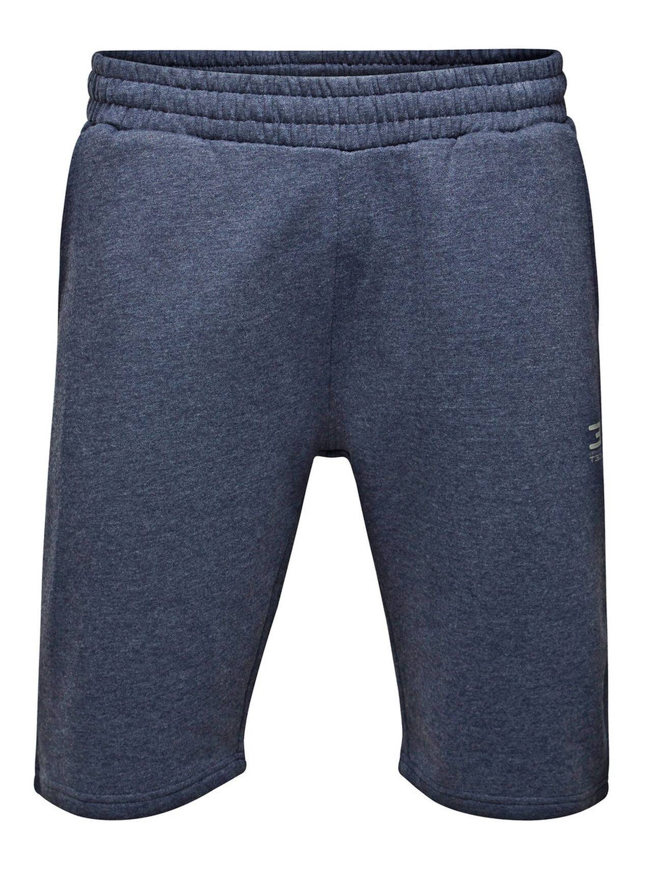 JACK & JONES Sports Sweat Shorts Men Blue NavyBlazer