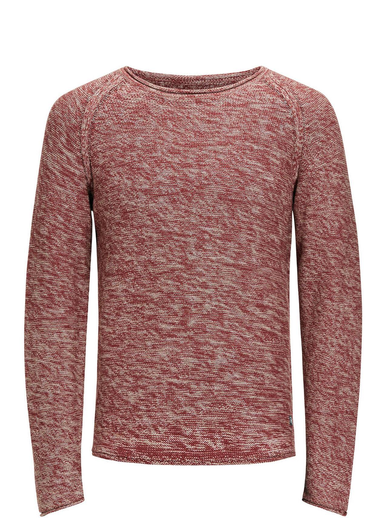 Jack & Jones Casual Knitted Pullover Rosewood