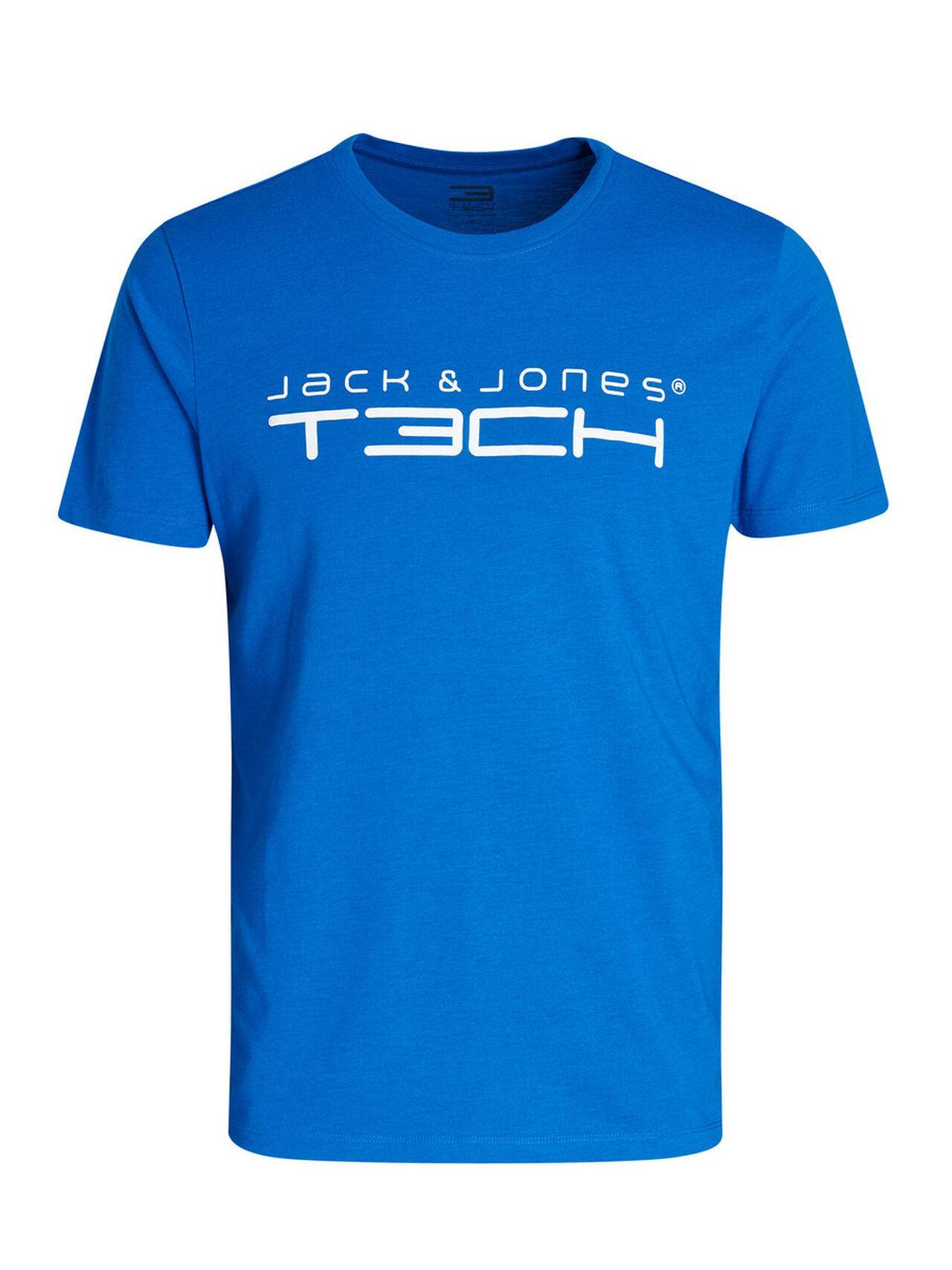Jack & Jones Printed Sports T-Shirt Skydiver