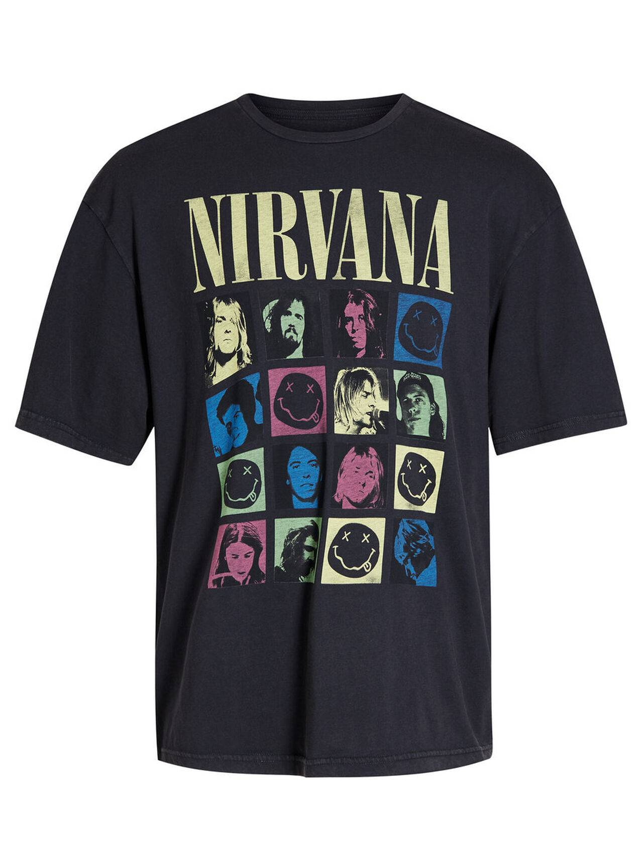 JACK & JONES Nirvana T-shirt Men Black TapShoe