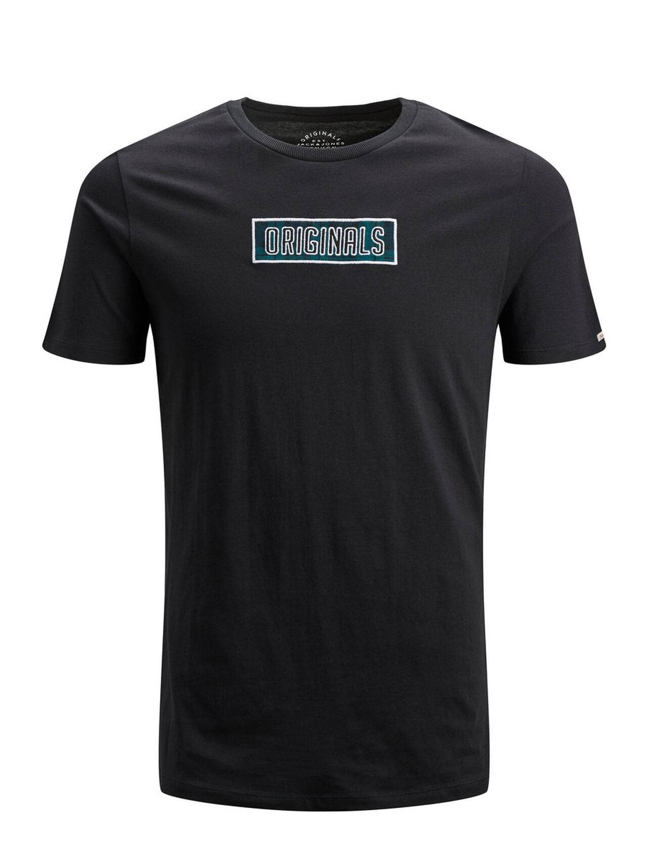 JACK & JONES Graphic T-shirt Men Black TapShoe