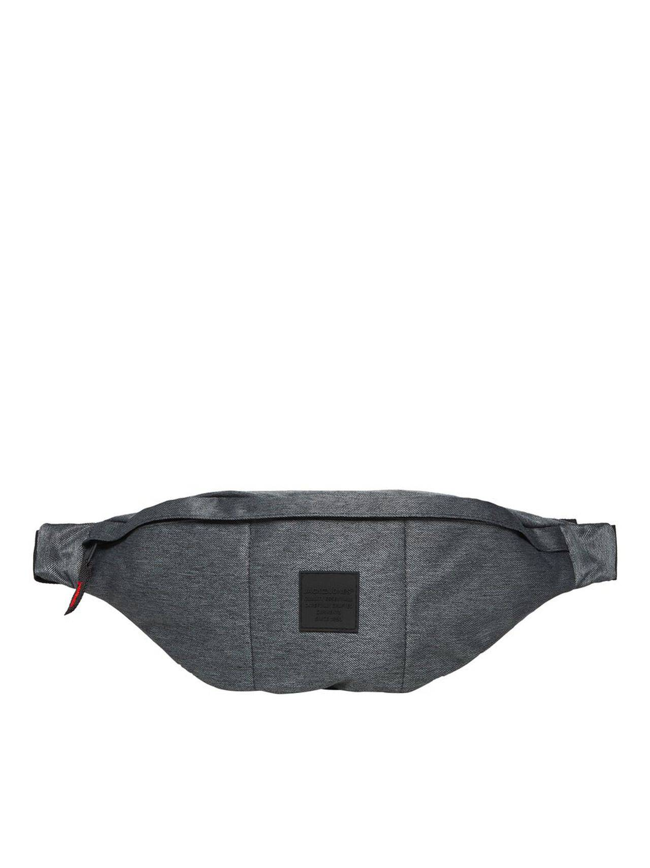 JACK & JONES Handy Bum Bum Bag Men Grey DarkGreyMelange