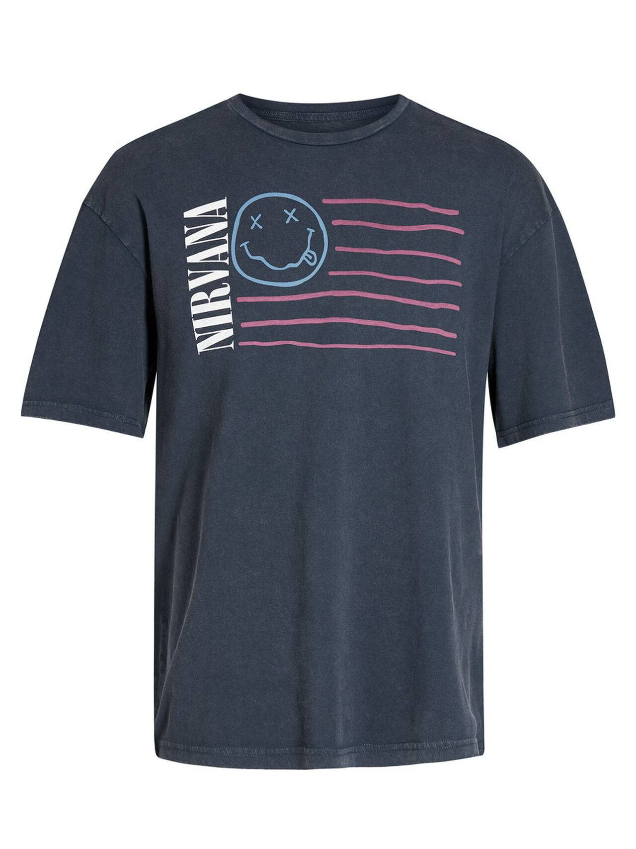 JACK & JONES Nirvana T-shirt Men Blue TotalEclipse