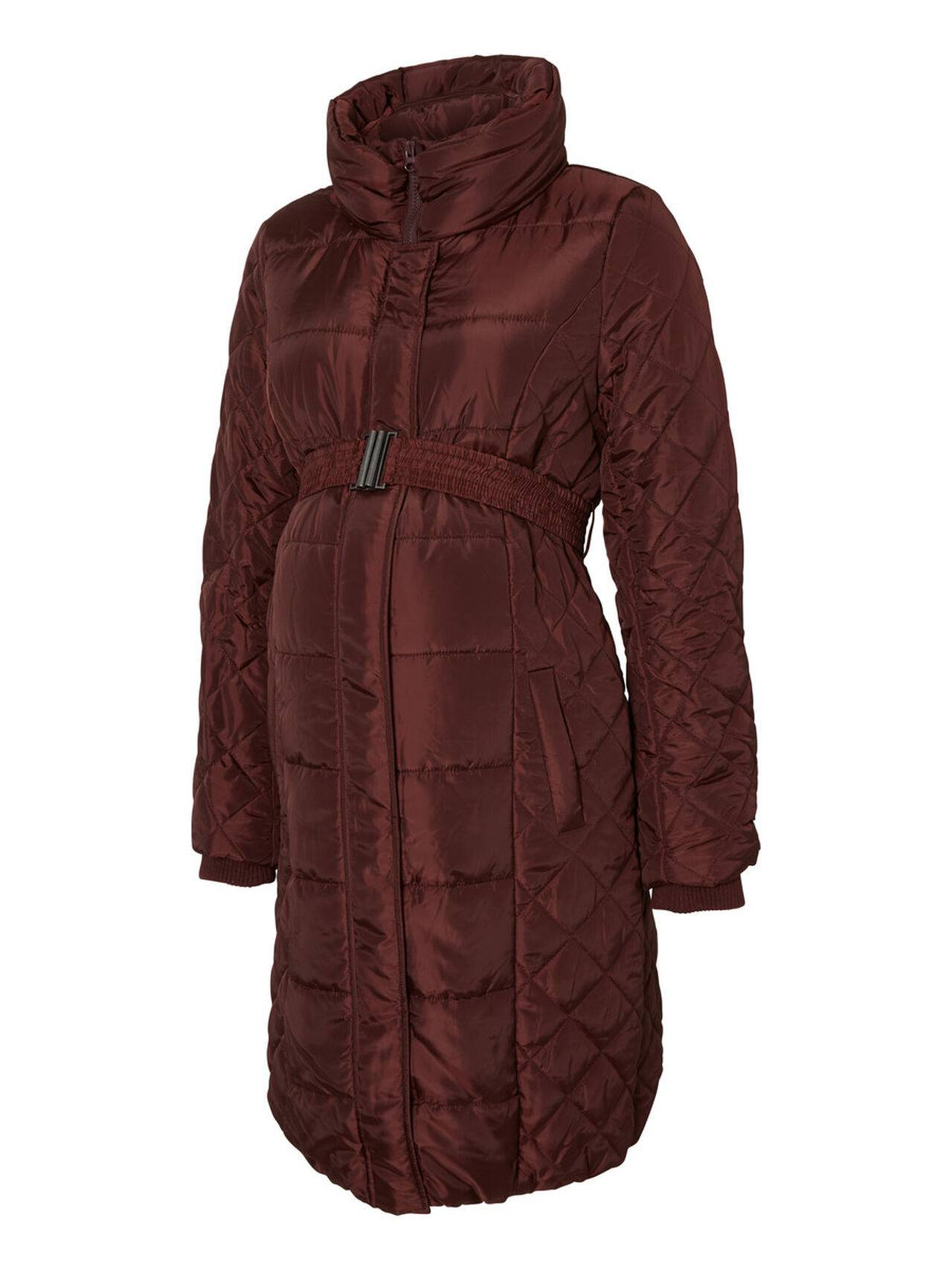 Mama.licious Padded Maternity Jacket Fudge