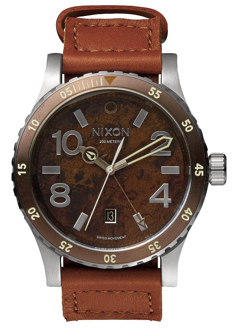 Nixon Diplomat Dark Copper / Saddle A269-1958 - LIQ