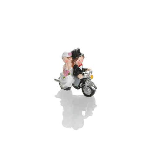 Booster Deco Figure Wedding Motorbike 1