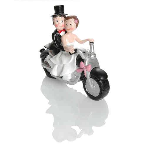 Booster Deco Figure Wedding Motorbike 3