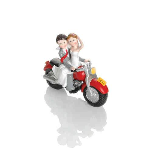 Booster Deco Figure Wedding Motorbike 5