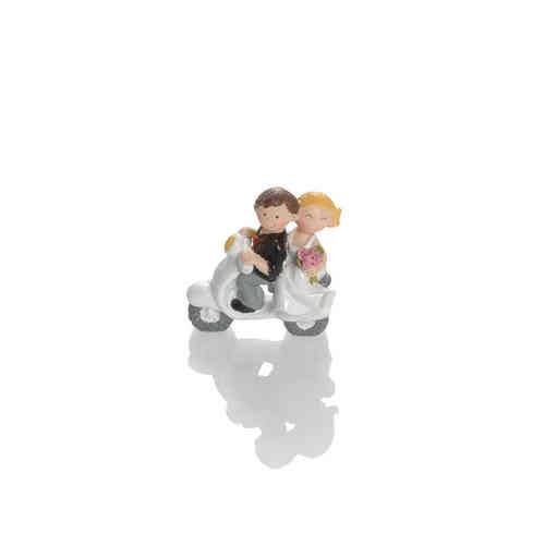 Booster Deco Figure Wedding Scooter 1
