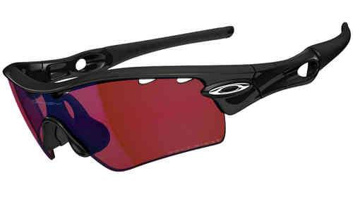 Oakley Radar Path Polished  G30 Iridium Polarized Vented Musta