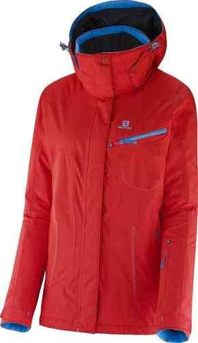 Salomon Impulse Jacket W Lady Punainen