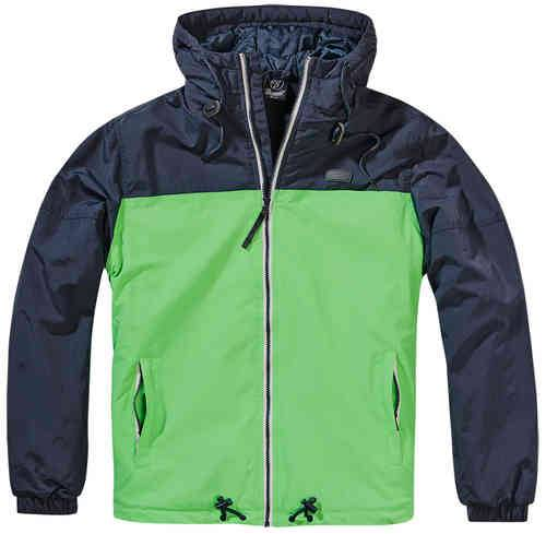Brandit Harris 2-Color Windbreaker Takki Indigo