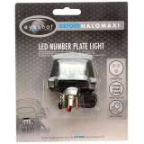 Oxford Halo Light LED Number Plate Musta