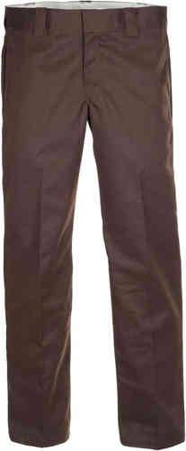 Dickies Slim Straight Work Housut Ruskea