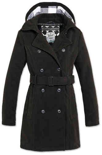Brandit Girls Coat Musta