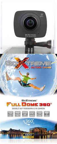 GoXtreme Full Dome 360 HD Musta