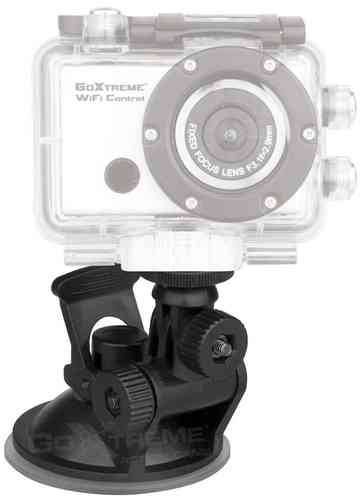 GoXtreme Suction Cup Mount Musta