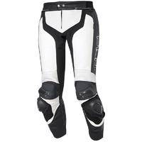 Held Grind Motorcycle Leather Pant Valkoinen/musta