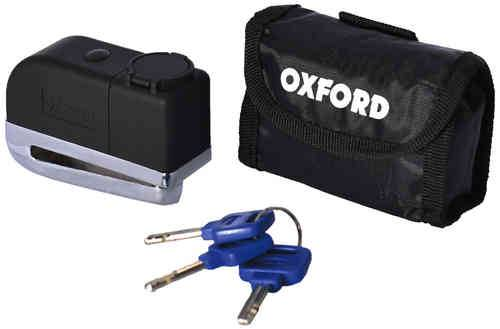 Oxford Screamer Disc Alarm Lock Musta