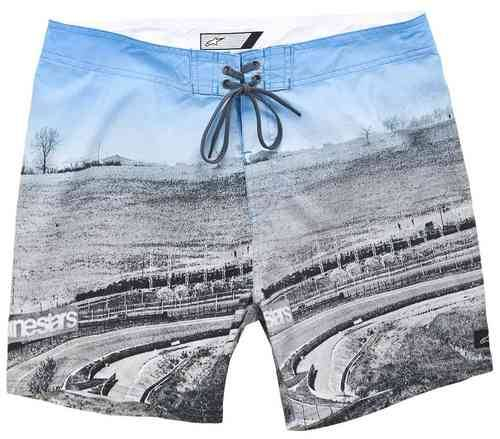 Alpinestars Circuit Trunks Shortsit Sininen/vihreä